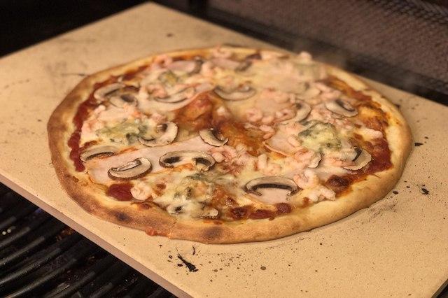 Koldhævede Pizza på Napolen LEX 485