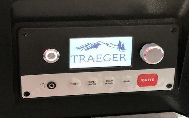 Første opstart af min Traeger Timberline 850