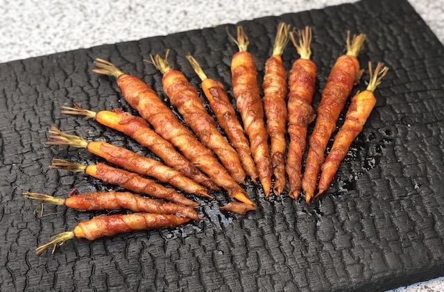 Bacon Gulerødder