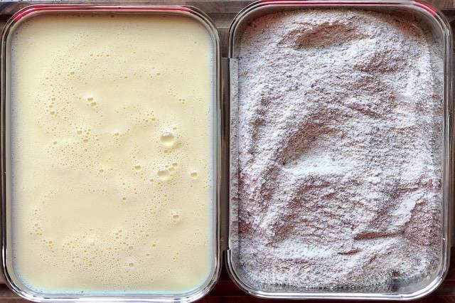 Kernemælk & Mel blanding til Fried Chicken