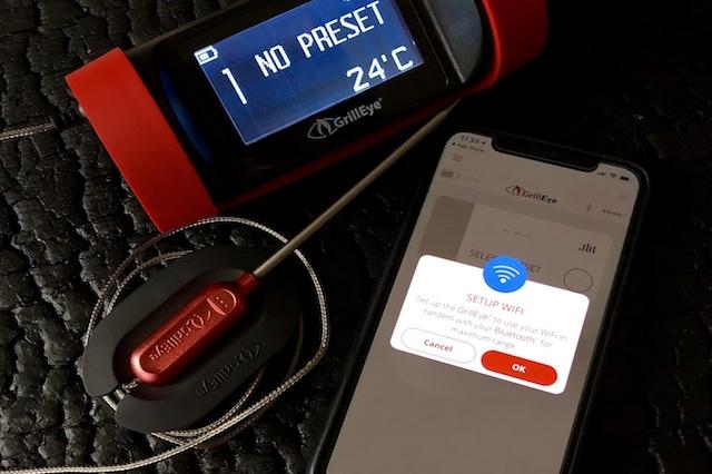 Nem WiFi opsætning - GrillEye Pro Plus