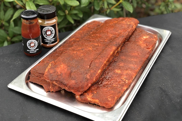 Steak-Out.dk - St. Louis Cut Ribs Kit med Danish BBQ