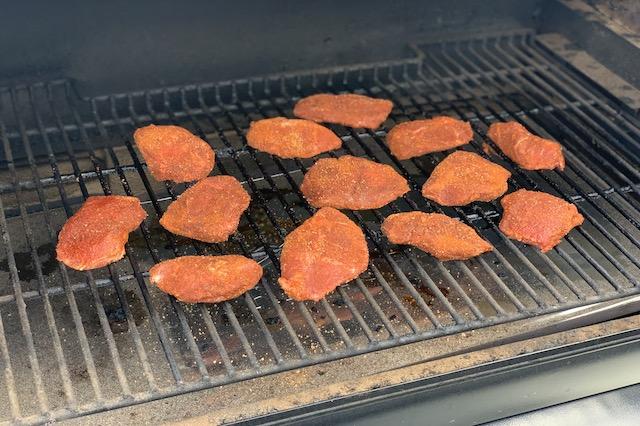 Svinekæber BBQ Style på Traeger Ironwood 885