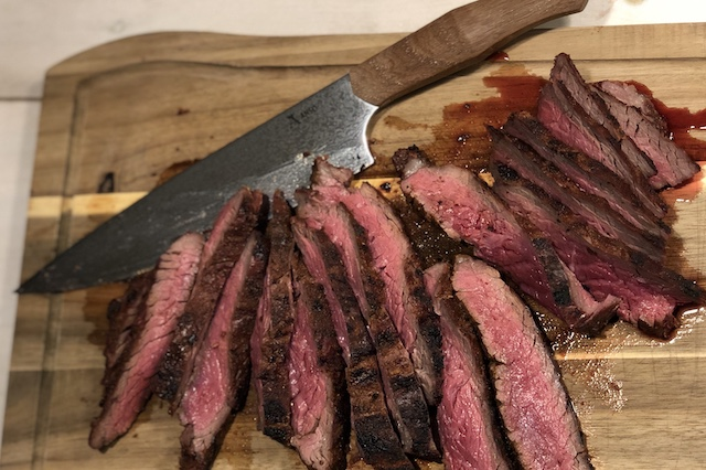 Flap Meat vs. Ansø of Denmark - Njord Chefknife