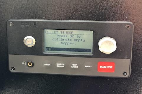 Kalibrering af Pellet Sensor