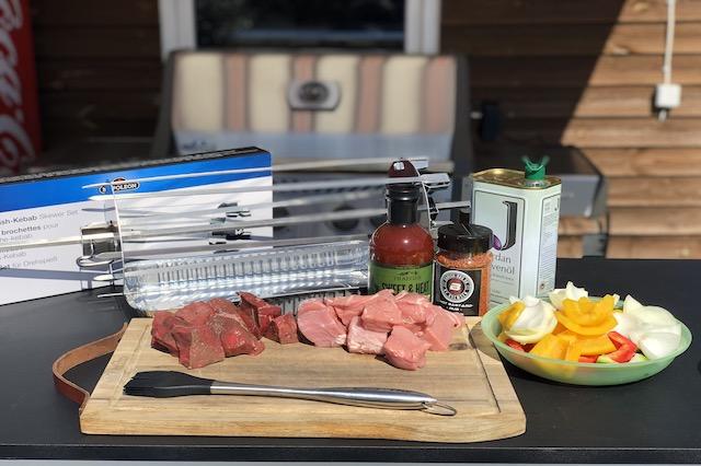 Ingredienser til Grillsyd