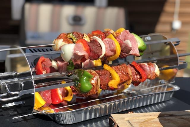 Grillspyd med Hot Bastard BBQ Marinade