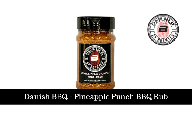 Danish BBQ - Pineapple Punch BBQ Rub