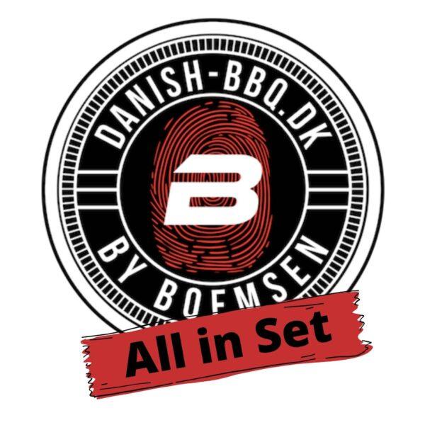 Danish BBQ All in Set