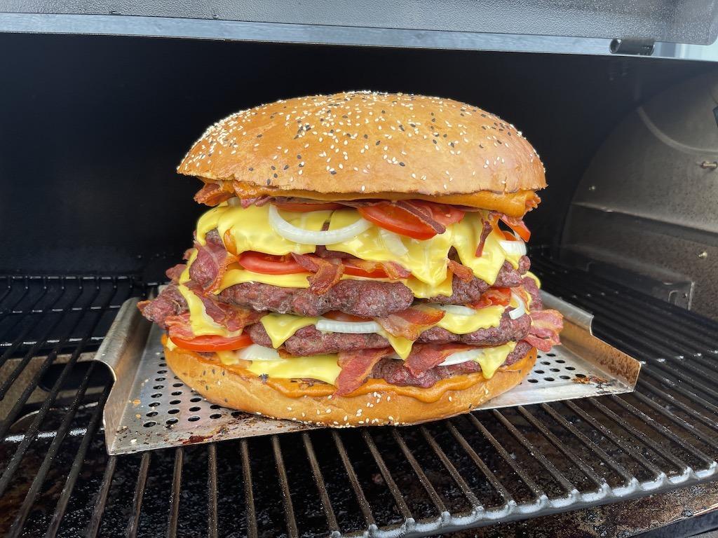 Big Jumbo XXXL Burger